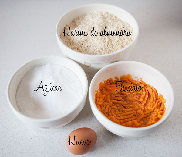 Ingredientes panellets